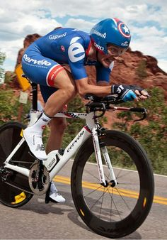 Time trial cycling