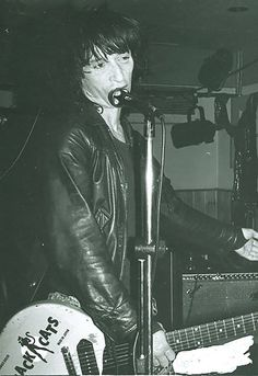 Johnny Thunders at Bullwinkles, London Ontario July 24th 1985