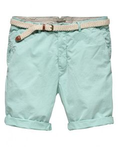 Chino short with belt - Shorts - Scotch & Soda Online Shop