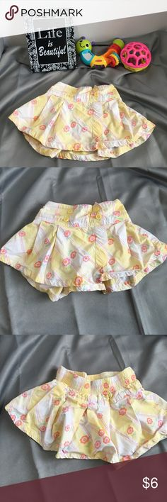 💰💰Skirt with attached diaper cover Skirt with attached diaper cover. Gently used. Bundle #101 Carter's Bottoms Skirts
