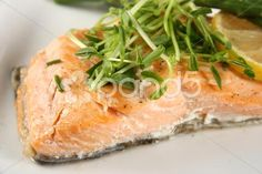 cooked salmon fillet - Stock Footage | by Juliedeshaies