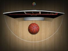 Samsung curved TV television basketball
