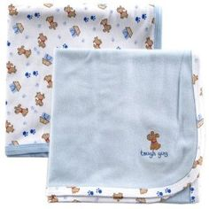 """Luvable Friends 2 Count Interlock Cotton Receiving Blankets, Blue by Luvable Friends. $12.57. 100% super soft combed cotton interlock. Bound edges for better washing. Extra large sizing 30"""" x 40"""". 100% Interlock Cotton. Coordinating Luvable Friends bodysuit, sleepers, hats, and socks. Machine washable. From our premium Luvable Friends collection of unique baby clothing and baby care products, comes our 100% Interlock Cotton Receiving Blankets. Safe and gentle on baby's skin..."""