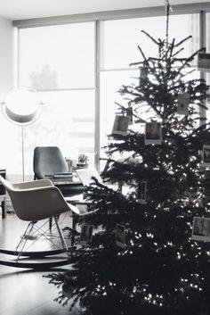 polaroid christmas tree, love it  Cool idea #dreamchristmas