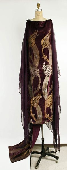 Dress Mariano Fortuny The Metropolitan Museum of Art