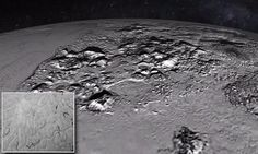 Nasa releases stunning new images showing the 'heart' of the Pluto