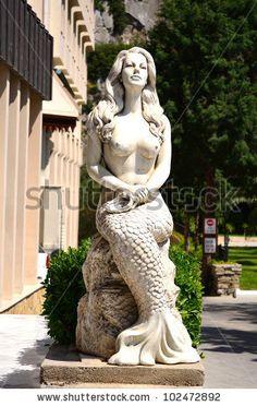 Mermaid statues                                                                                                                                                      More