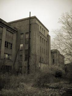 Philadelphia State Hospital (Byberry), photos by Tom Kirsch / opacity.us