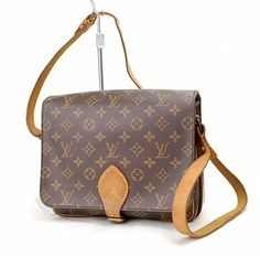 Louis Vuitton Cartouchiere Brown Cross Body Bag $399