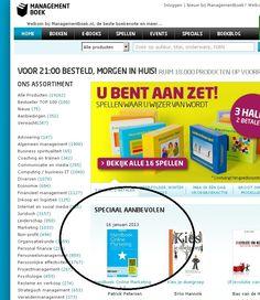 Het nieuwe #HOM3 is aanbevolen op Managementboek.nl