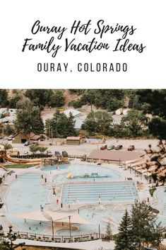 Family friendly vacation in Ouray, Colorado at Ouray Hot Springs. Vacation Ideas for kids. Colorado hikes for kids. Informations About Ouray Hot Springs: A Y Road Trip To Colorado, Colorado Hiking, Family Vacation Destinations, Vacation Spots, Vacation Ideas, Places To Travel, Places To Visit, Telluride Colorado, Travel Usa