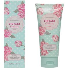 Heathcote & Ivory Vintage Collection Rose Nourishing Hand and Nail Cream Makeup Supplies, Cream Nails, Hand Care, Girly Things, Girly Stuff, Body Spray, Vintage Roses, Face Wash, Natural Skin Care