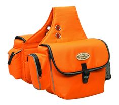 Weaver Orange Polyester Waterproof Trail Gear Horse Saddle Bag Western Tack for sale online Riding Gear, Trail Riding, Horse Saddles, Horse Tack, Trail Saddle, Pets Online, Laurel Burch, Orange Bag, Search And Rescue