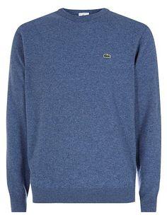 Crew neck wool sweater  Crew neck wool sweater