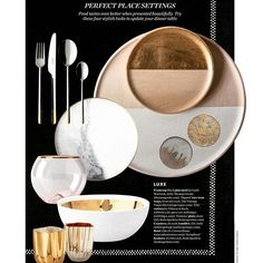 Thanks @elledecorationuk for featuring our @tane_mx collection #tableware #silver #bodosperlein #tableart #londondesign #tempest