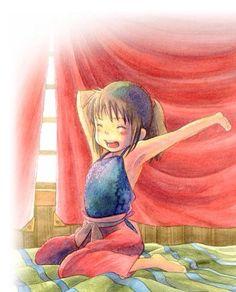Spirited Away / Sen to Chihiro no Kamikakushi (千と千尋の神隠し) - Chihiro