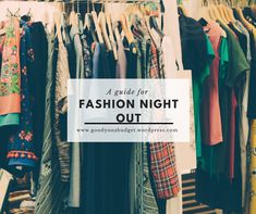 A simple guide for fashion night out or black friday