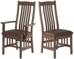 Mission Dining Chairs   Chairs Design Ideas
