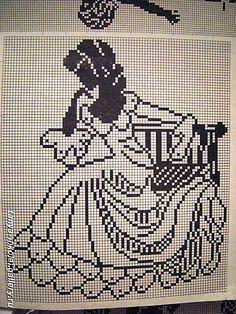 Gallery.ru / Фото #60 - Crochet Filet pour Point de Croix 1 - Mongia