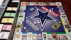 Dallas Cowboy Monopoly