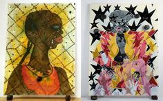 Chris Ofili Chris Ofili, African Artists, Arts Ed, Black Artists, Love And Respect, Love Art, Painting & Drawing, Wedding Photography, Paintings