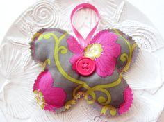 Hanging Lavender Sachet Butterfly Sachet Pillow by Itsewbella, $7.00