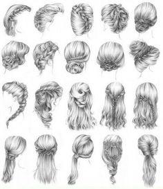 Hair do for long hair..