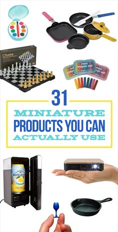 31 Miniature Products You Can Actually Use