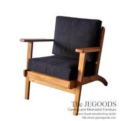 Jegoods Woodworking Studio Furniture Designer. Produsen furniture kursi sofa chair retro vintage scandinavia style. Kursi jengki model retro danish Jepara.