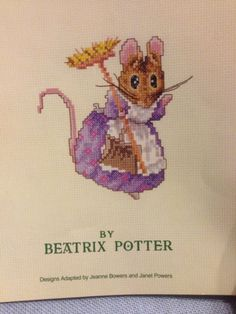 Beatrix-Potter-The-Tale-of-Two-Bad-Mice-Cross-Stitch-Book-11-Patterns