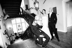 cooles TrauzeugenBild | Hochzeitsfoto | Clodie und Steffen - Angela Pfeiffer
