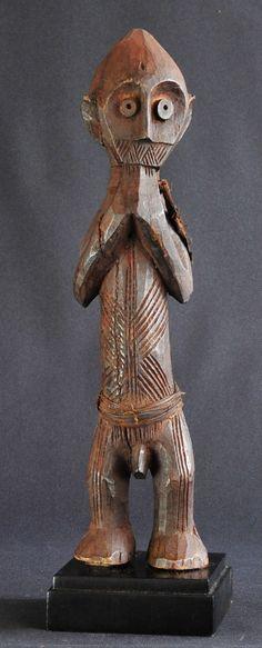 BELLE STATUETTE AFRICAINE (Ambete Congo Gabon ?) Art Africain tribal | eBay