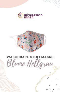Maskenpflicht einhalten und die Umwelt entlasten mit unseren bunten Stoffmasken. Waschbar bis 60°. Ohrband in Länge verstellbar.  Jetzt bei schwesternuhr.ch bestellen! - Ohne Versandkosten. Schweizer Unternehmen.  #schwesternuhrch #schwesternuhr #maske #hygienemaske #stoffmaske #mundschutz Blue Mask, Comfortable Work Shoes, Protective Mask, Swiss Guard, Business, Masks