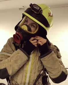 Wife nude in my fire gear pictures