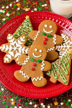 There's nothing you can't do with some cookie cutters and icing. These Classic Gingerbread Cookies are sure to please your guests this holiday season.