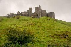 Carreg Cennan Castle the most romantic castle in Wales - http://ift.tt/1HQJd81