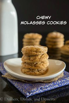 Chewy Molasses Cooki