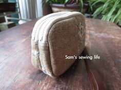 Sam's sewing life: double zipper wallet purse & Shell