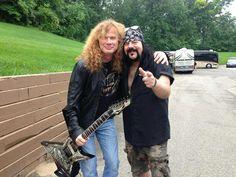 Dave Mustaine & Vinnie Paul