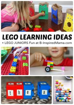 Awesome LEGO Learning Activities - [#sponsored by @LEGO - #LEGOJuniorMakers #CleverGirls] #kids #LEGO #kbn #binspiredmama