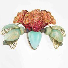 Day-lily brooch. Ilgiz F