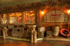 Miami Beach Marina Monty's Raw Bar in HDR by Daniel A Ruiz, via Flickr