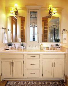 Bathroom Vanities and Cabinet in Complete Designs Ideas / Pictures Photos and Ideas of Home Interior Exterior