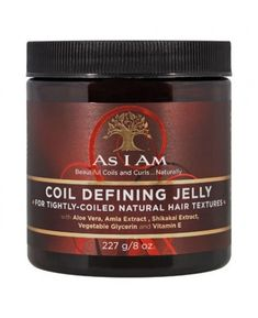 As I Am Coil Defining Jelly oz.) As I Am Coil Defining Jelly oz. Texturizer On Natural Hair, Natural Hair Care, Natural Hair Styles, Hair Frizz, Frizzy Hair, 4c Hair, Curling, Coiling Natural Hair, Shampoo For Curly Hair