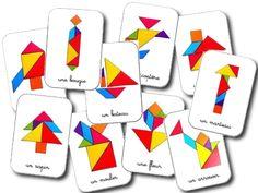 Mod�les tangram