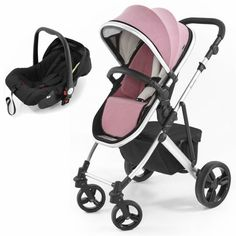 Tutti Bambini Riviera Plus Silver Frame 2in1 Travel System-Dusty Pink/Cool Grey (Pushchair + Car seat) Description: Package Includes: Tutti Bambini Riviera Plus Black Pushchair Tutti Bambini Riviera Cruise Car Seat Tutti Bambini Riviera Plus Black Pushchair: The Riviera Plus is a practical and contemporary pushchair with a moulded racing seat which reclines to two positions and has both parent... http://simplybaby.org.uk/tutti-bambini-riviera-plus-silver-frame-2in1-tra