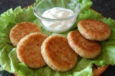 Cutlets of crabmeat