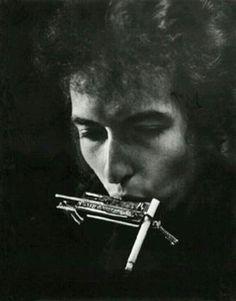 Bob Dylan. Foto di Daniel Kramer 1964