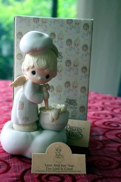 Precious Moments Angel making Angel Food Taste by AmbrosiasAttic