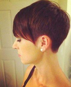 Very Short Hair Cuts - Hair Styles 2019 Super Short Hair, Short Hair Styles Easy, Short Hair With Bangs, Short Hair Cuts, Pixie Cuts, Long Bangs, Choppy Bangs, Pixie Styles, Cute Short Haircuts